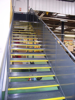 Escalier industrielle