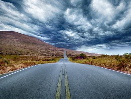 Kap voum!* Nous prenons la route