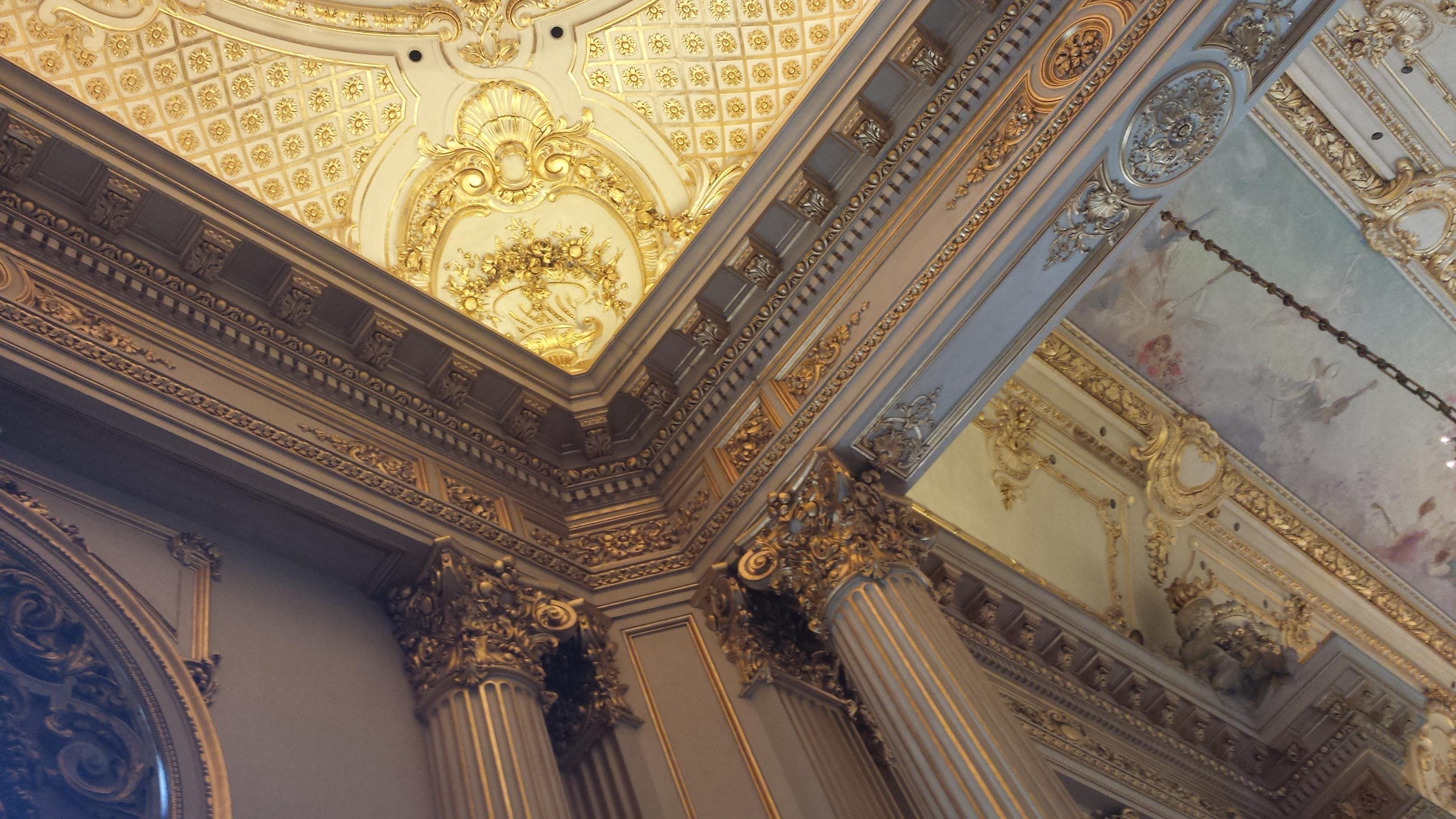Plafond du Teatro Colon