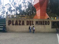 Plaza del minero