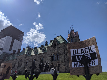 Black Lives Matter: My first protest