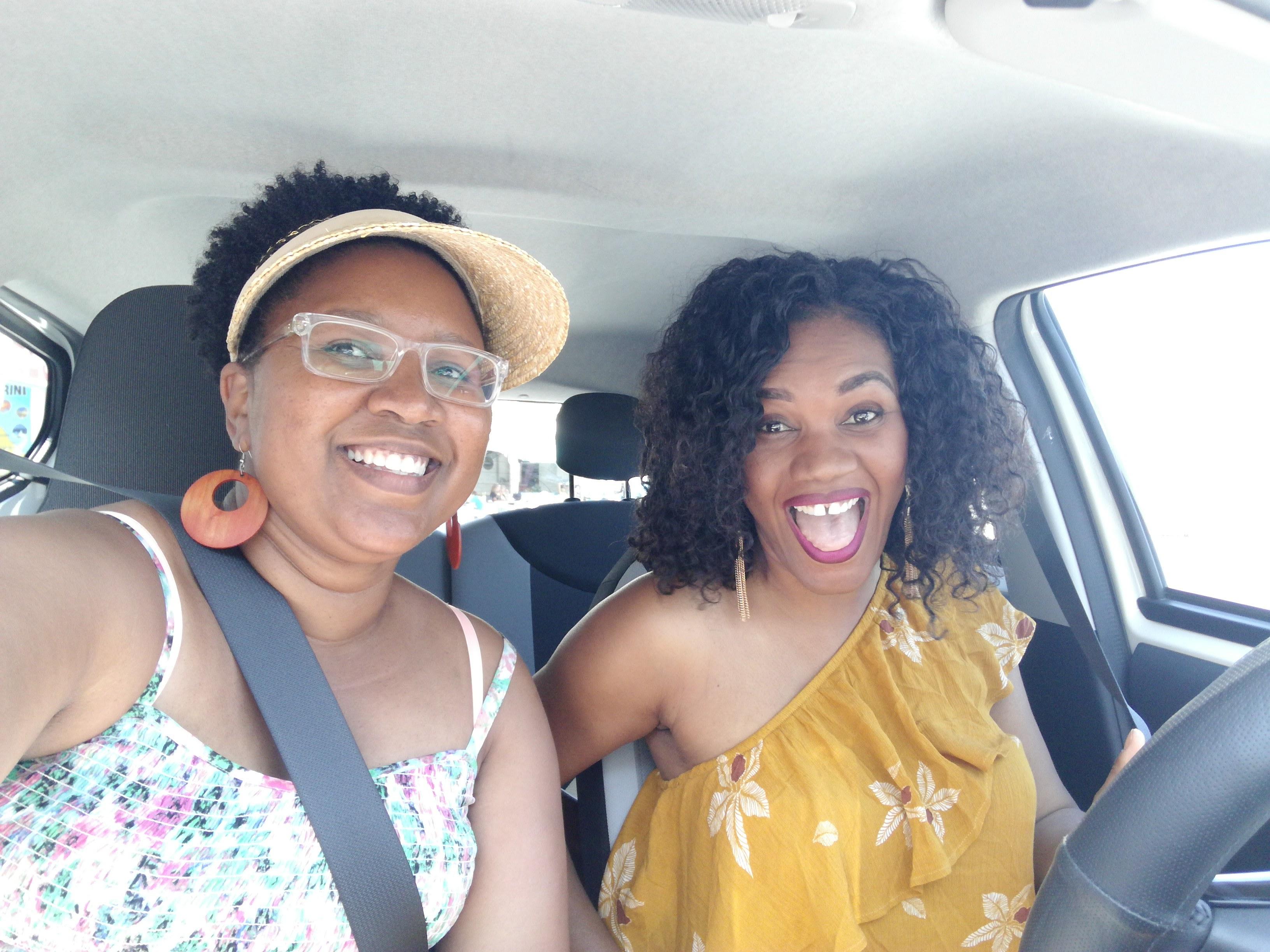 We rented a car