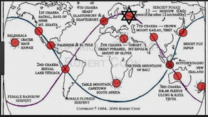 There is an ancient earth's grid