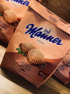 "Manner- ""Schoko Brownie Törtchen"""