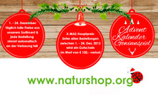Adventskalender-Gewinnspiel bei Naturshop.org