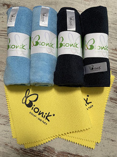 Bionik Tuch - Reinigt nur mit Wasser