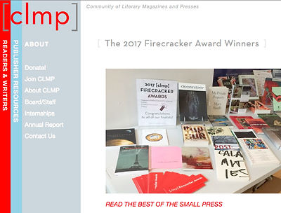 clmp 2017 Firecracker Award Winners