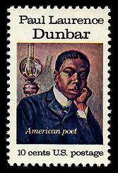 Paul Laurence Dunbar postage stamp