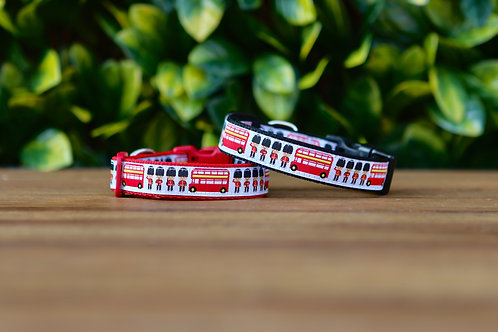 London Themed Dog Collar / XS - M