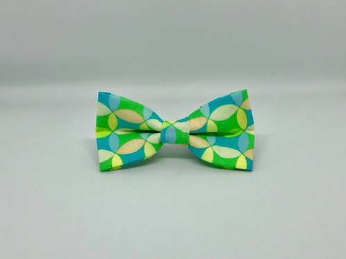 Green Geo Bow Tie