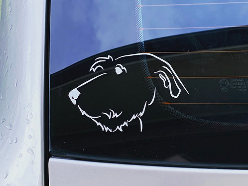 Irish Wolfhound Decal / Sticker