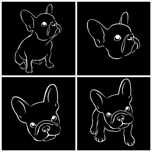 French Bulldog Decal / Sticker