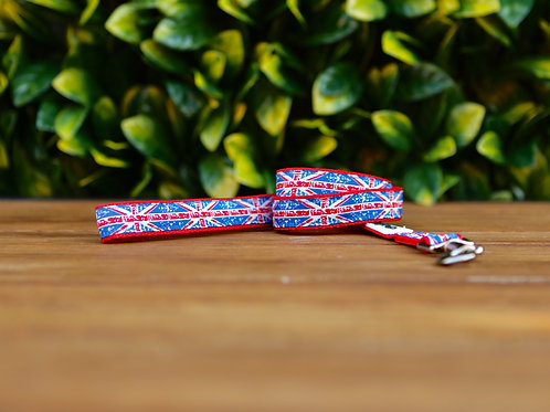 Small Union Jack Dog Lead / Dog Leash