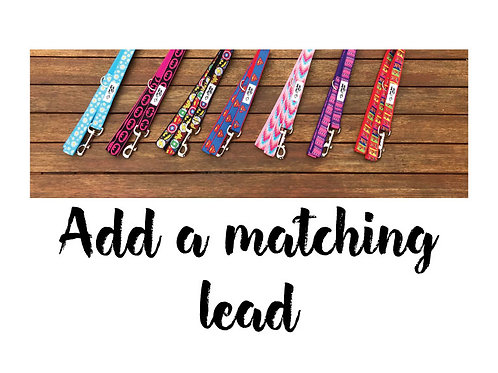 Add A Matching Dog Lead / Dog Leash