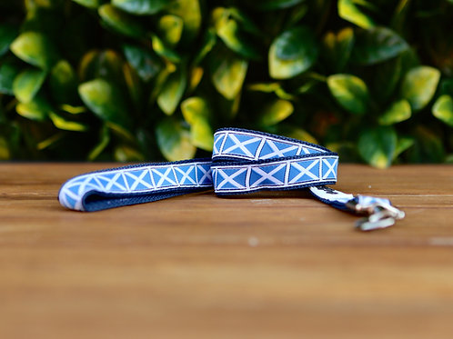 Scottish Flag Dog Lead / Dog Leash