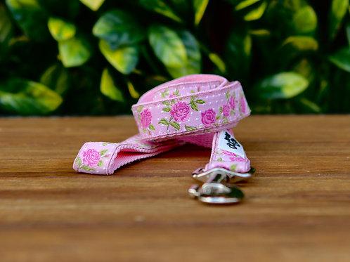 Pink Rose Dog Lead / Dog Leash