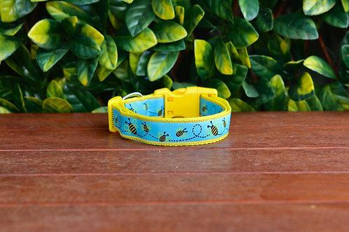 Bumble Bee Dog Collar / S - L