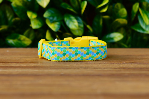 Hexagonal Dog Collar / Honeycomb / XS - L