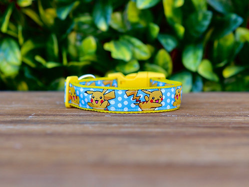 Pikachu Dog Collar / Pokemon / XS - L