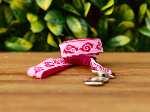 Pink Cloud Dog Lead / Dog Leash