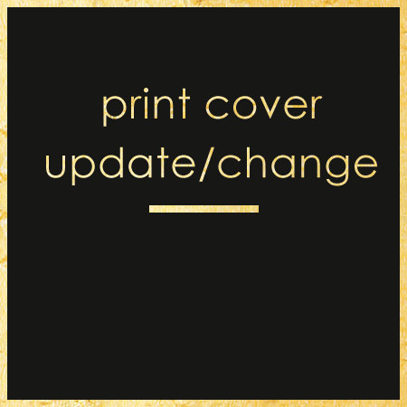 Print cover update/change