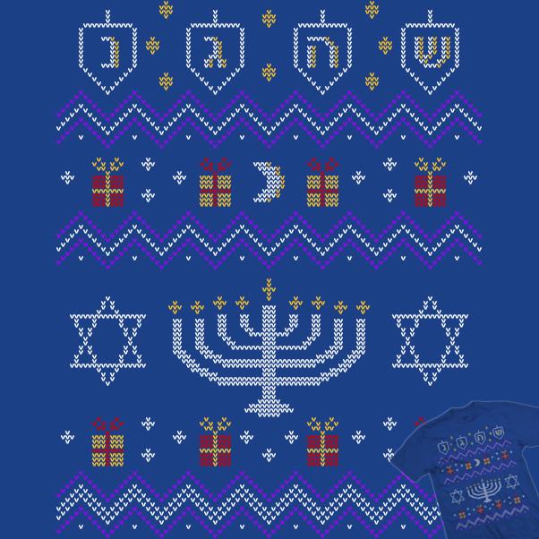 Ugly Hanukkah Sweater Shirt