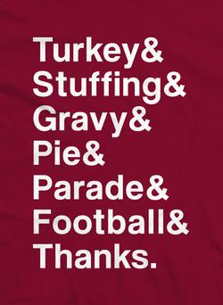 Thanksgiving Plan