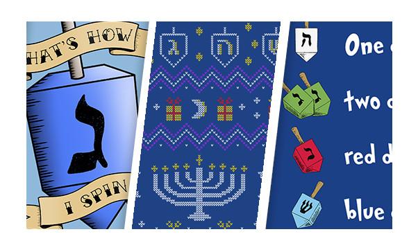 3 Lil Hanukkah Shirts