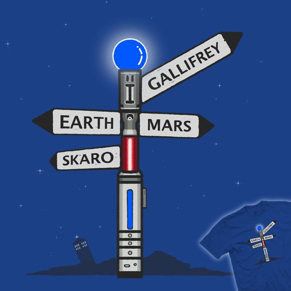 Sonic Signpost - Light My Way To Gallifrey!