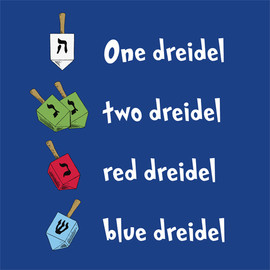 One Dreidel, Two Dreidel
