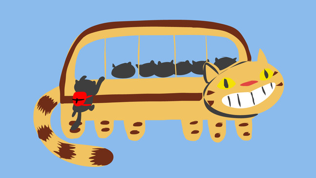 Working On A Catbus Collab!
