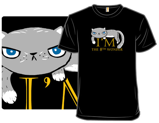 Cat Design Evolved Into Cat Shirt!