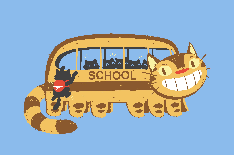School Catbus
