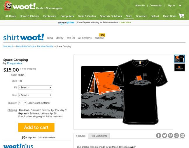 It's A Shirt! A Real Shirt!