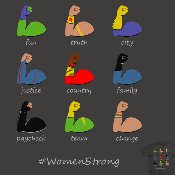 women strong ode to all the strong women