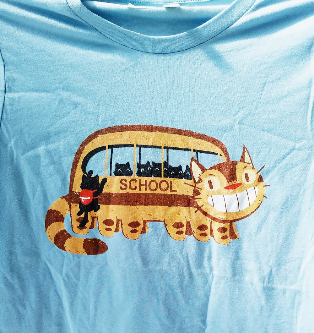 School Catbus Real Life Shirt