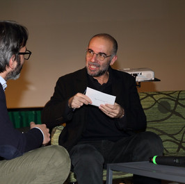 Con Giuseppe Tornatore alla presentazione del suo Diario inconsapevole