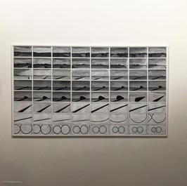 Una composizione di fotogrammi del film Detours. Da Drago Artecontemporanea