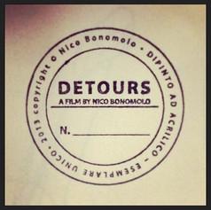 Timbro per l'autentica dei fotogrammi del film Detours