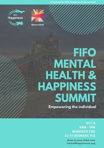FIFO MENTAL HEALTH & HAPPINESS SUMMIT (1