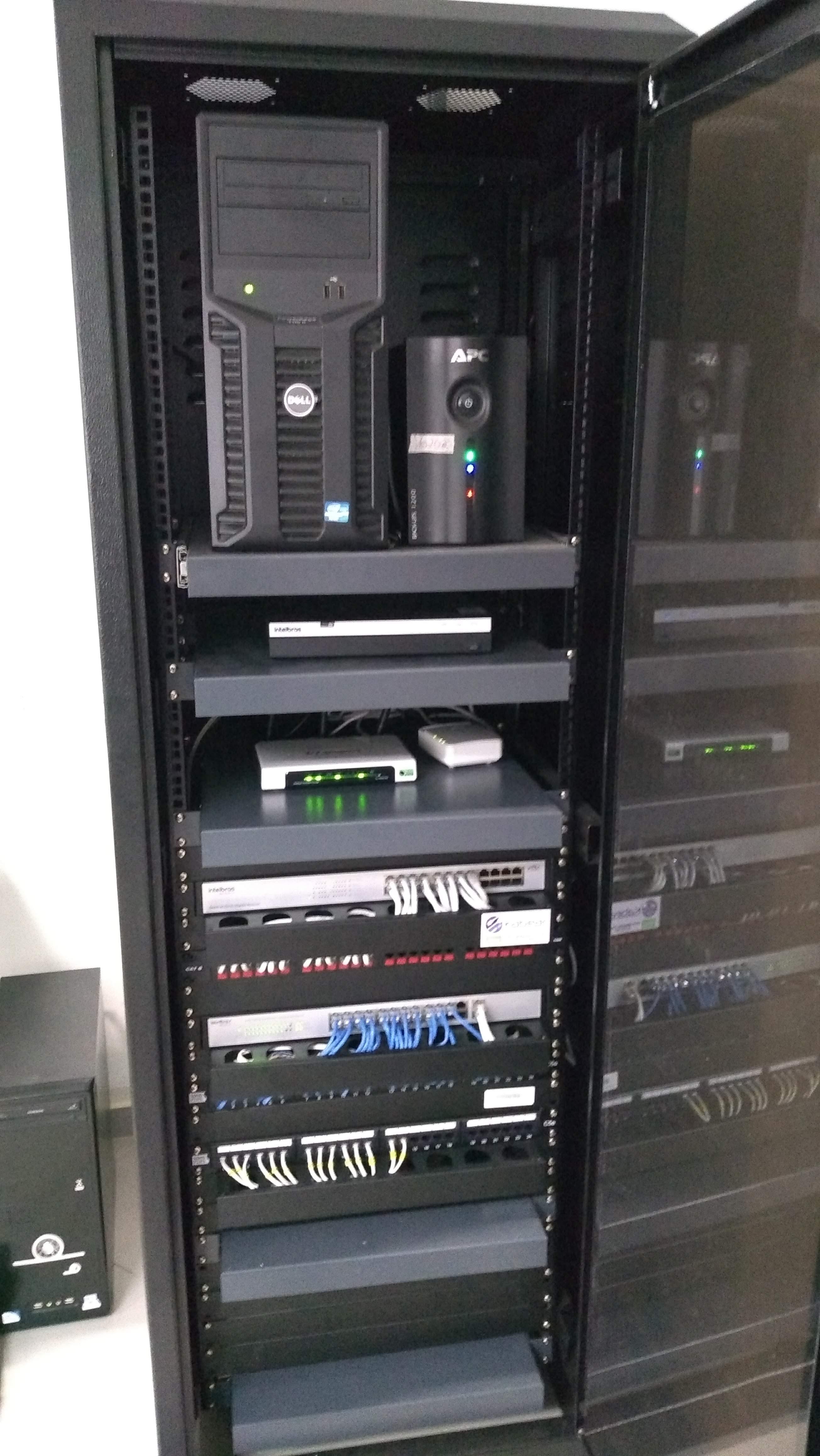 Rack de Telecom