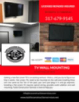Indianapolis General Contractor, TV Mount, Roofing, Kitchen Remodel Indpls, Bathroom Remodel Indpls