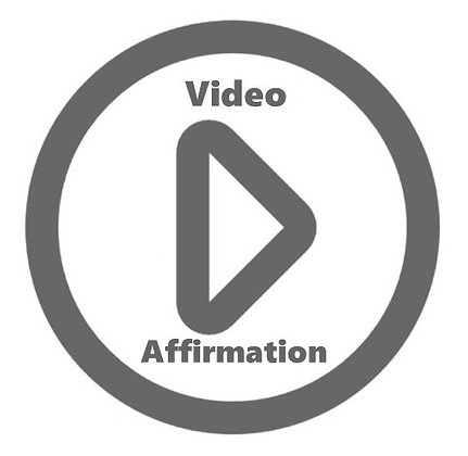 A personal affirmation that will be sent to you as a video from me!