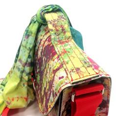 Cartella piccola con foulard 80x80