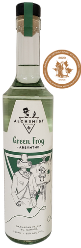 Green Frog -Absynthe-
