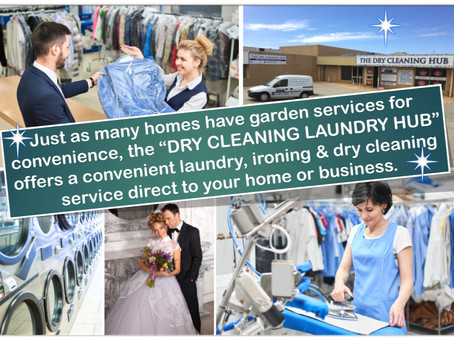 Too busy to do their own laundry or they simply want to spend their time for other things?