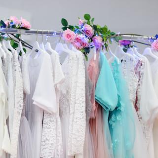 Beautiful bridal dresses or bridesmaid d