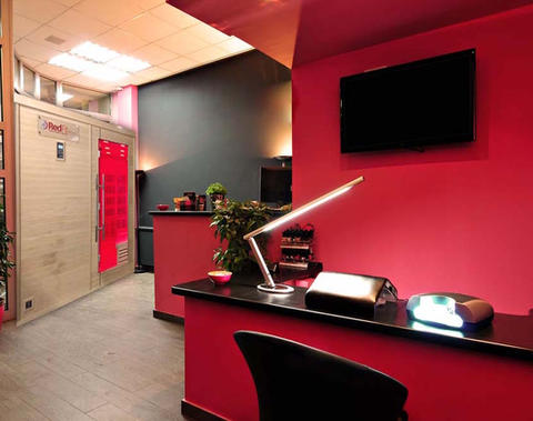 Red Hot Room in a Spa