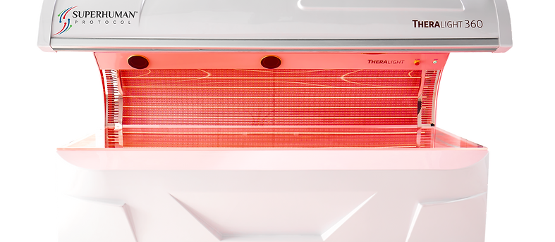 TheraLight 360 Whole Body Red Light Bed - LED Therapy
