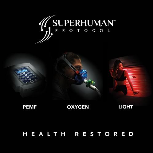 Superhuman Protocol Printed Art on Acrylic